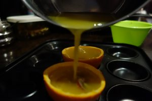 Orange Jelly pots