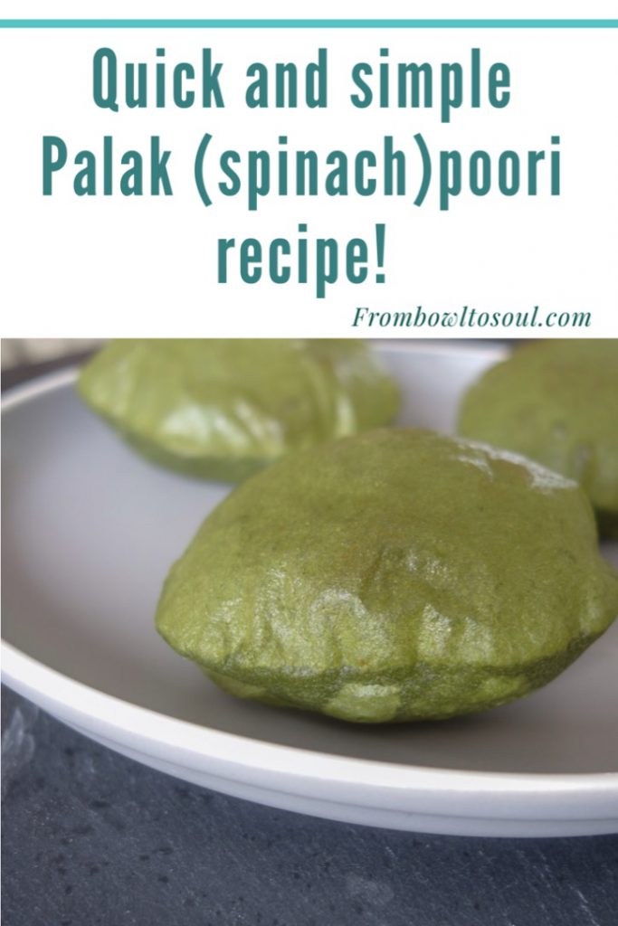 Pin it for later Palak Poori recipe