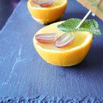 orange jelly pots