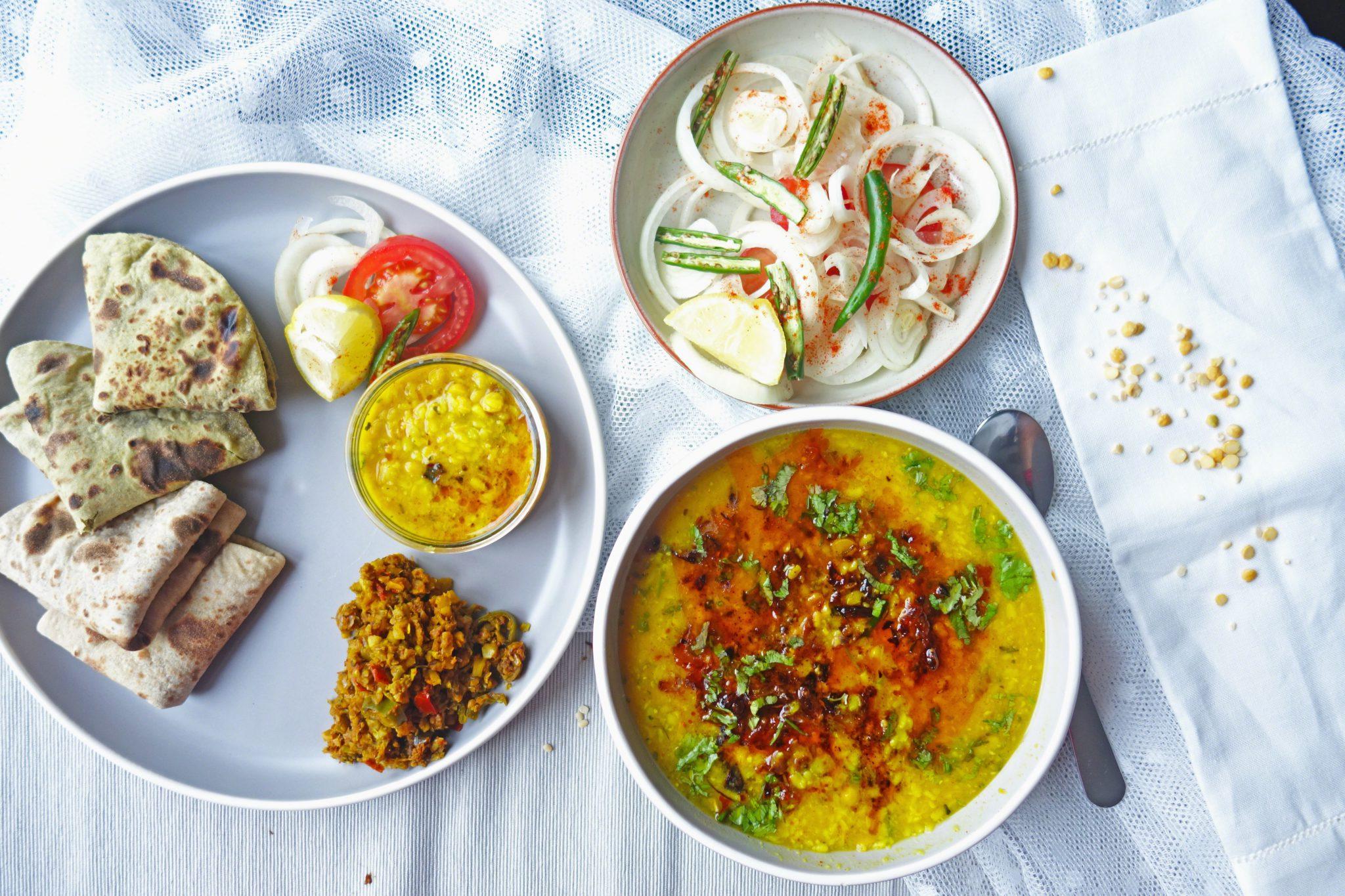 Urad Chana daal / lentil soup recipe