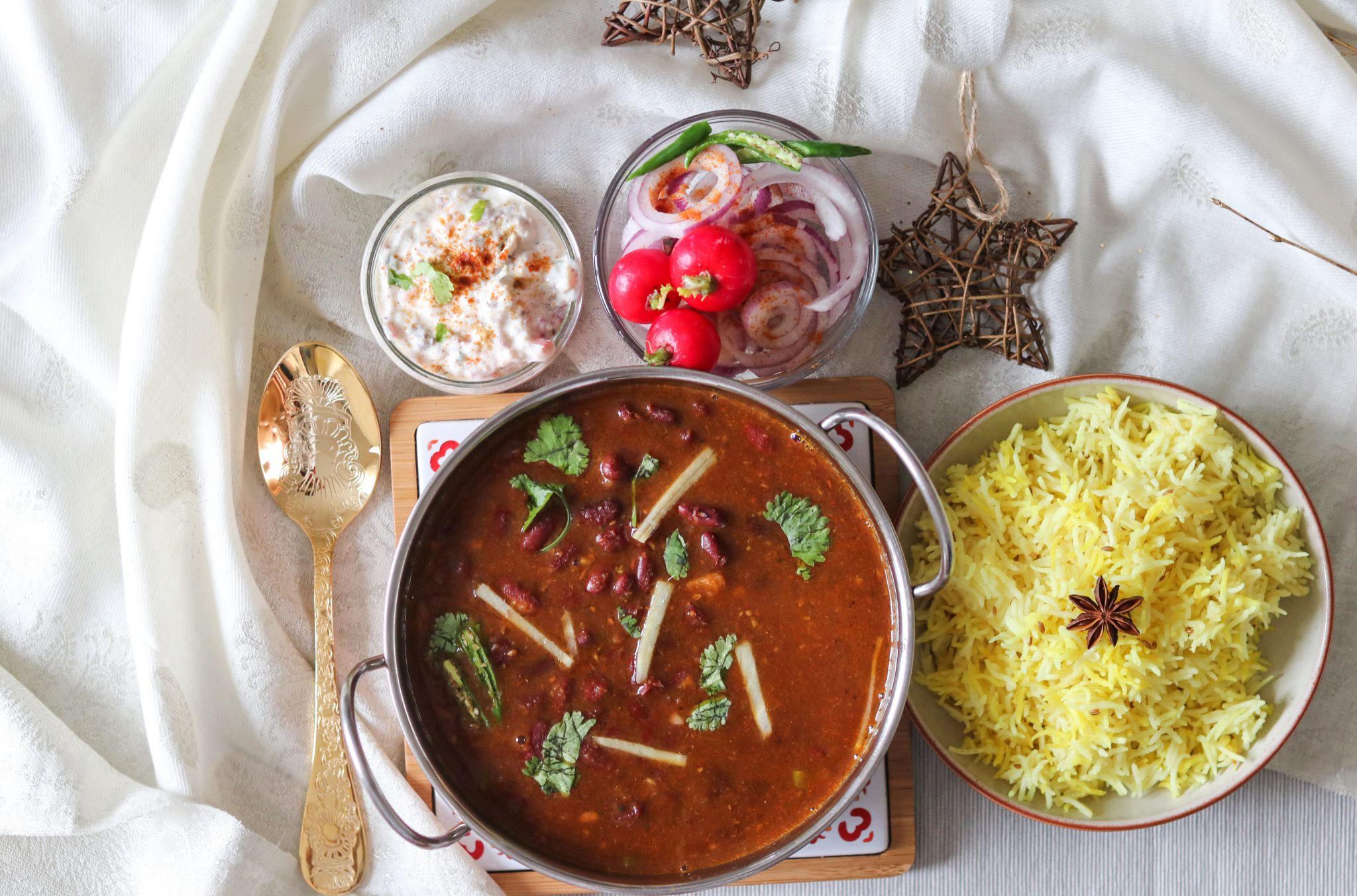 Rajma /Red kidney beans curry
