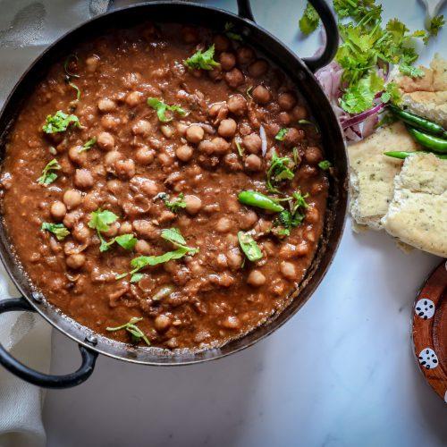 Chickpea curry recipe