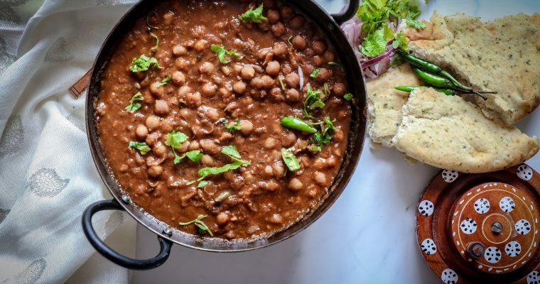 Punjabi Chhole Recipe (Chickpea Curry )