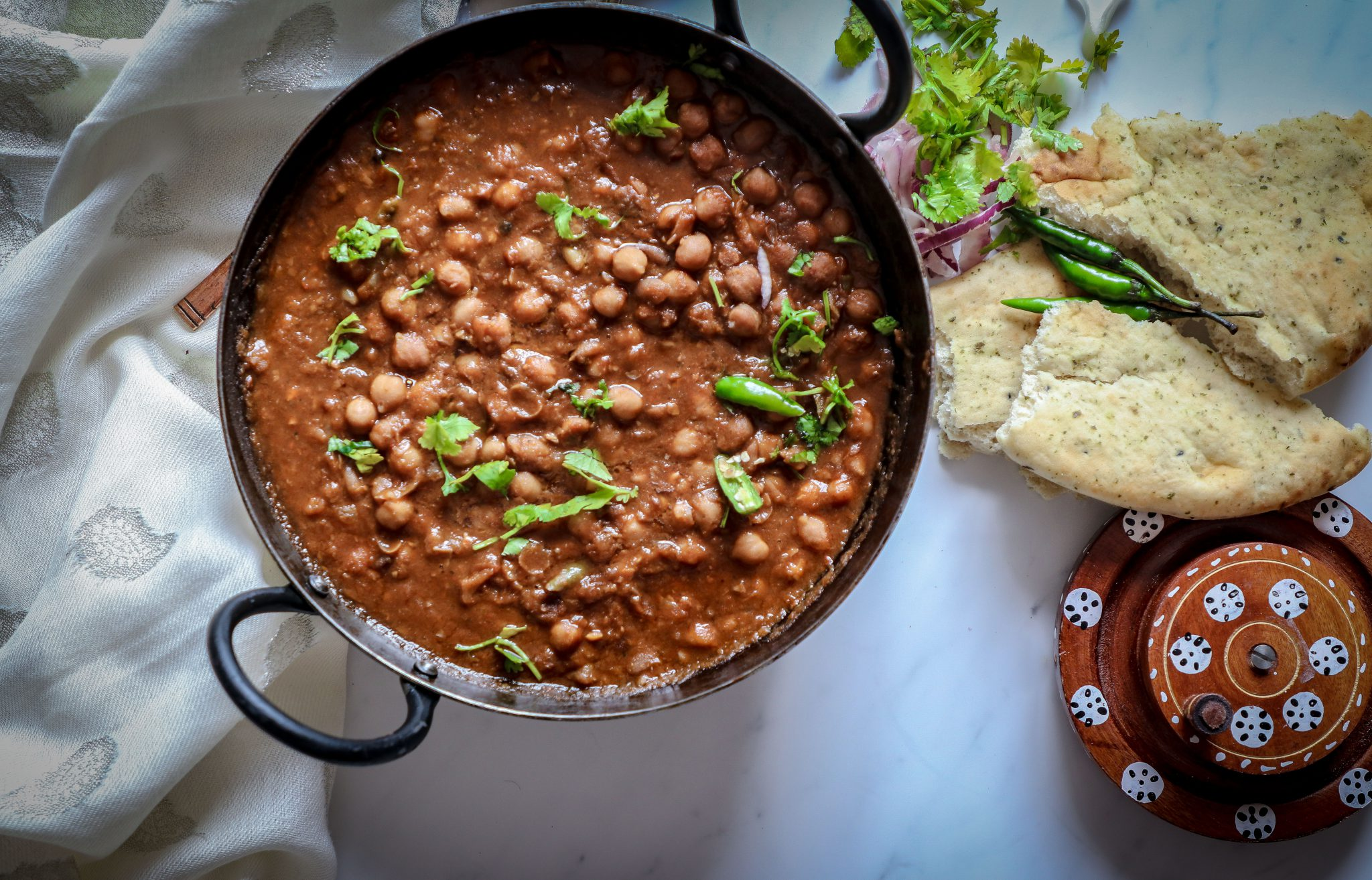 Punjabi Chhole Recipe (Chickpea Curry )