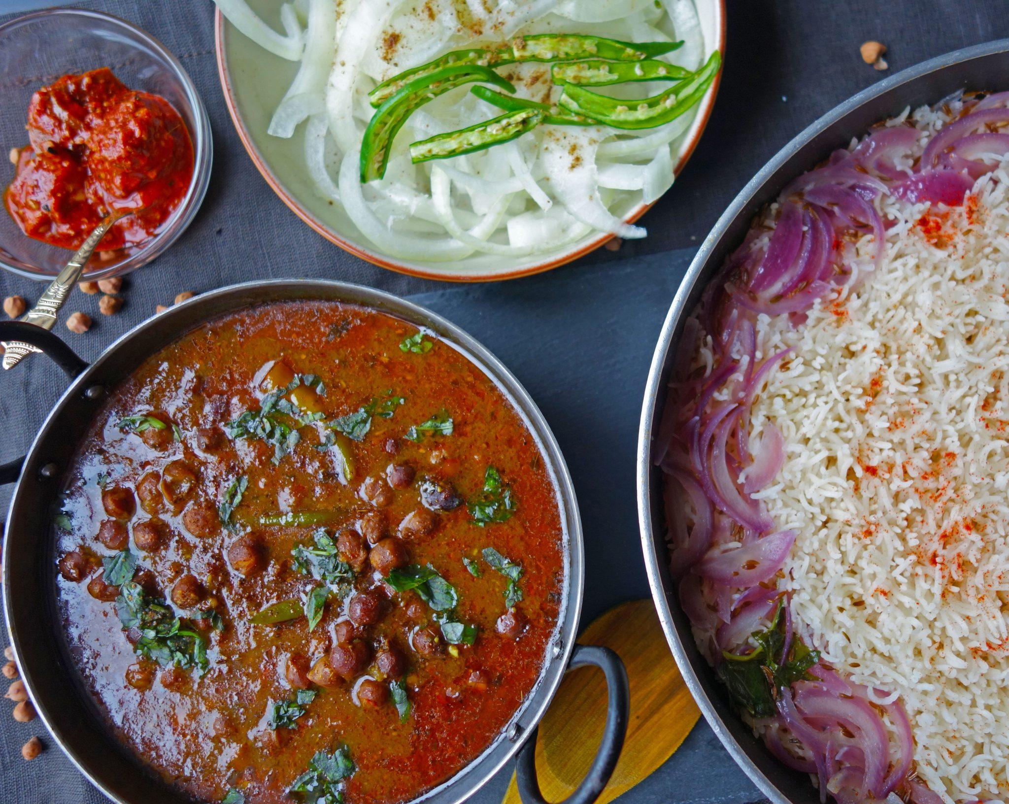 Black chickpeas/kala Chana curry recipe