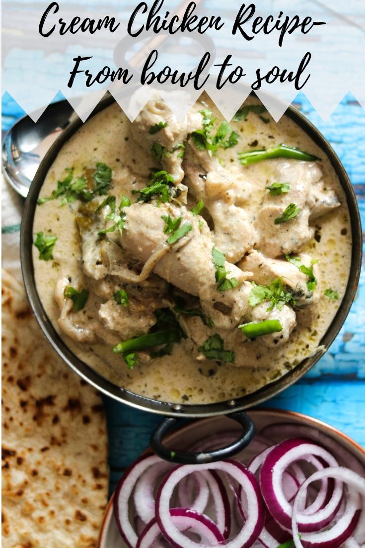 Cream Chicken Recipe