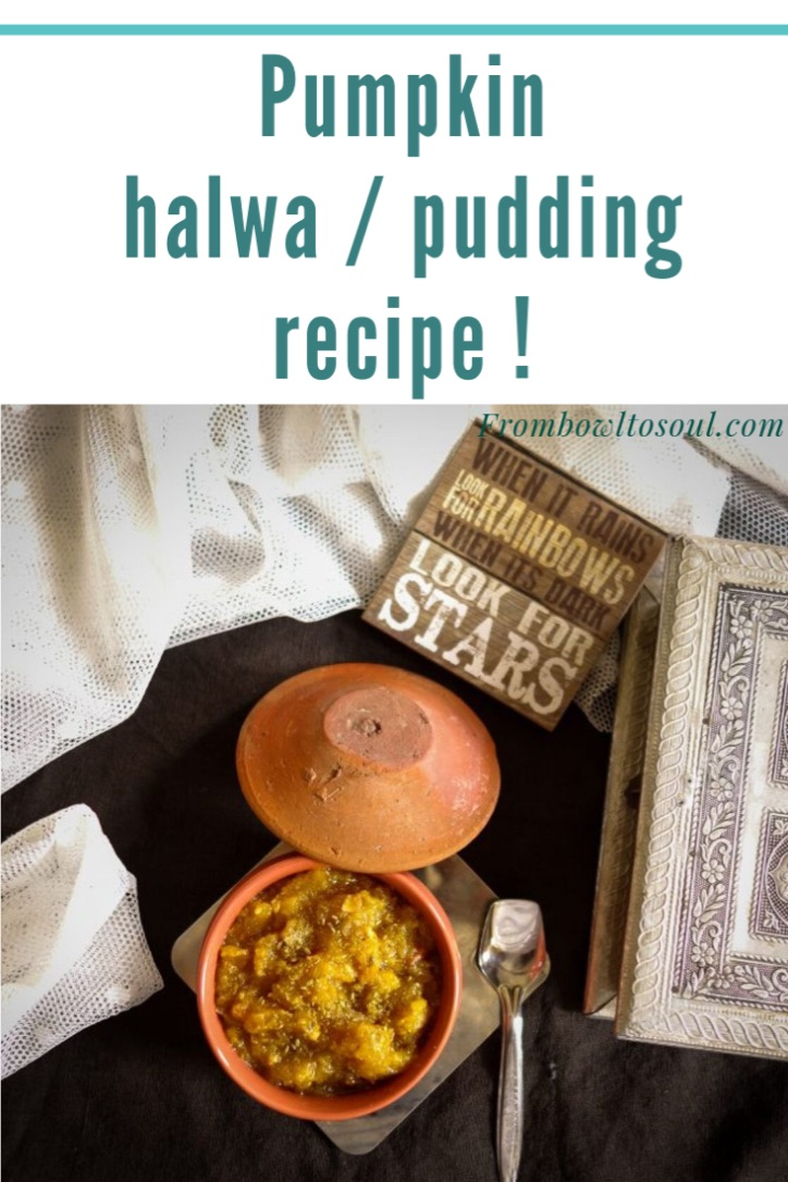 pumpkin halwa/ pudding