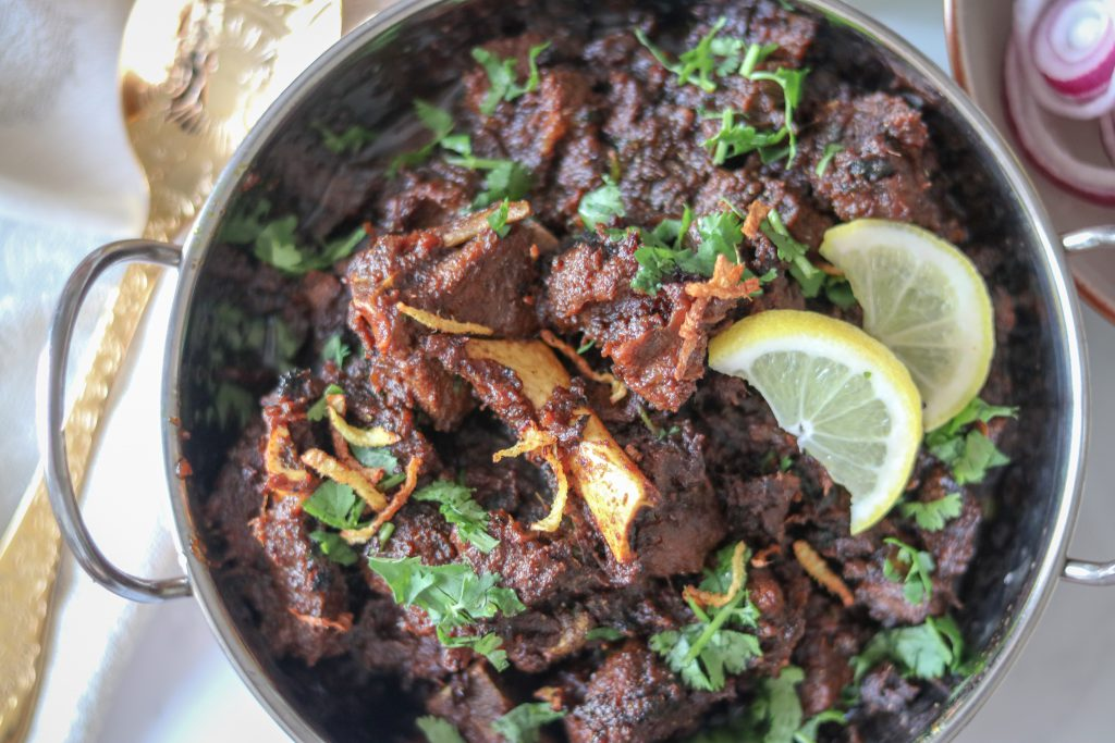 Sukha mutton (Dry Mutton)