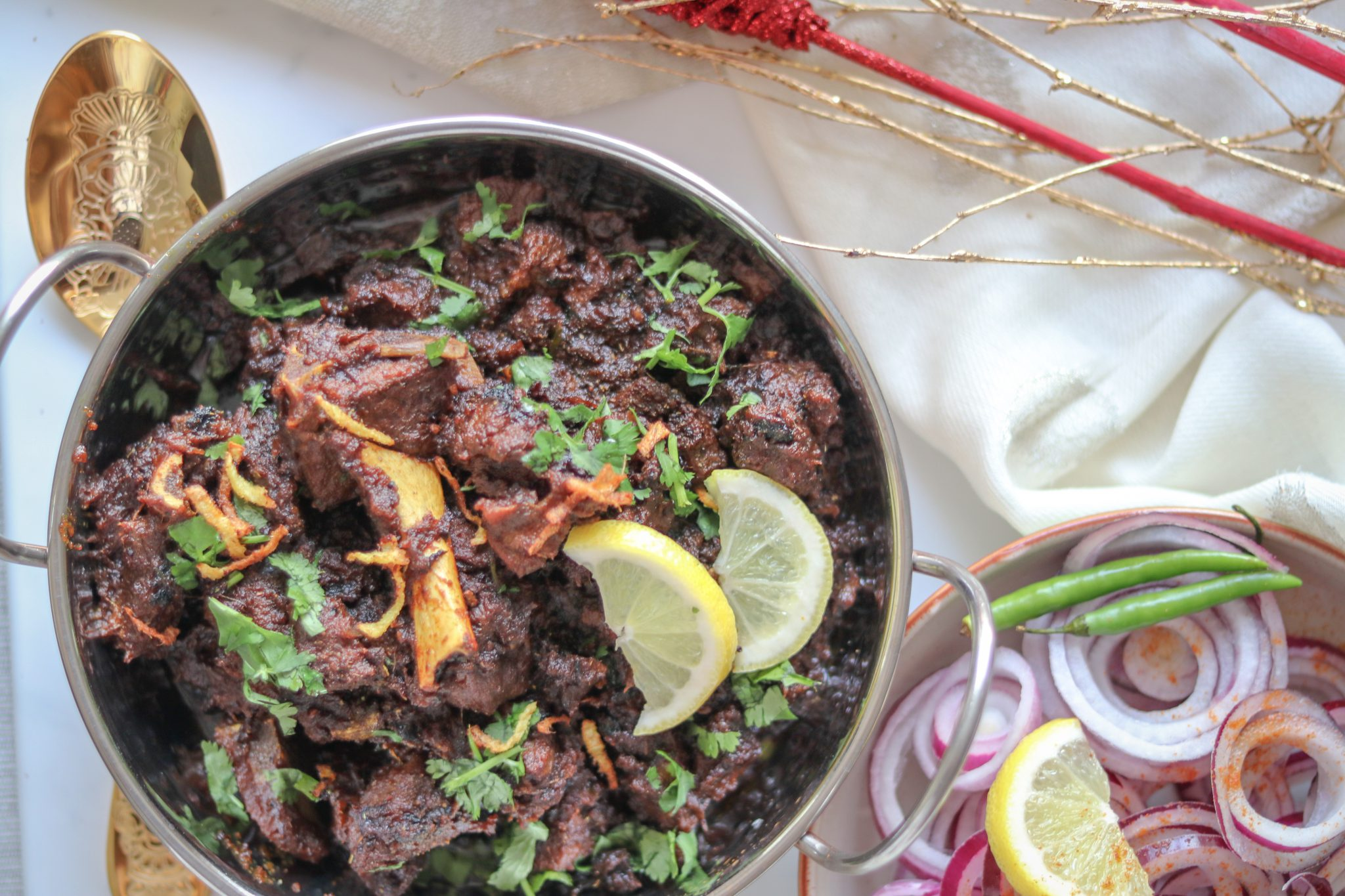 Sukha Mutton (Dry mutton ) recipe