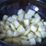 aloo methi/ sautéed potatoes and fenugreek leaves