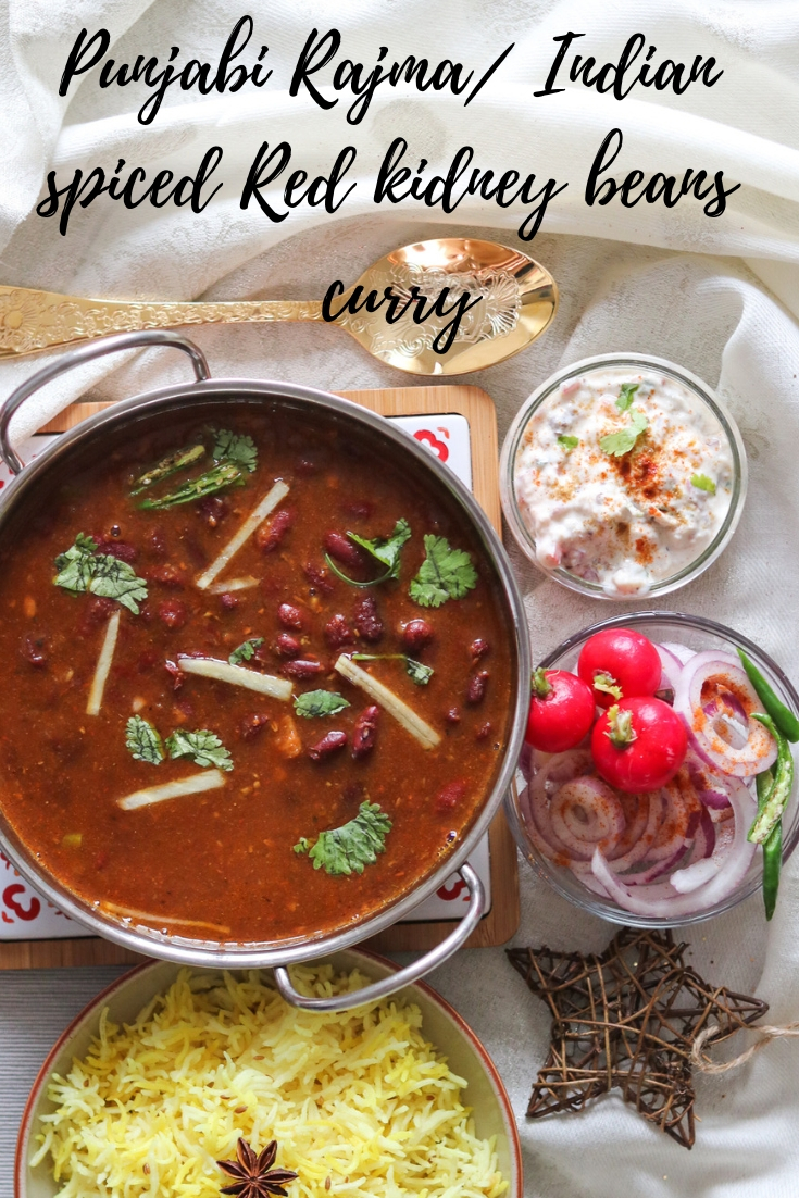 Punjabi Rajma Curry