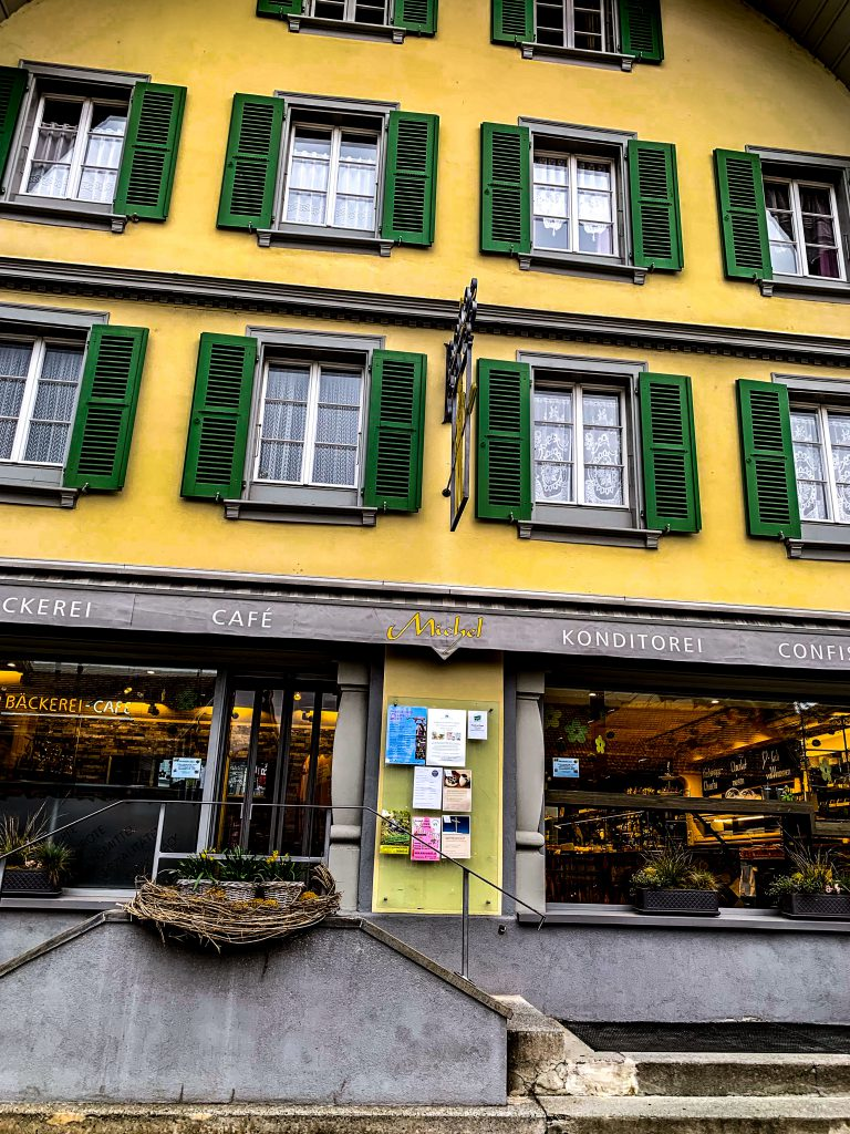 Interlaken- Michel beck cafe picture