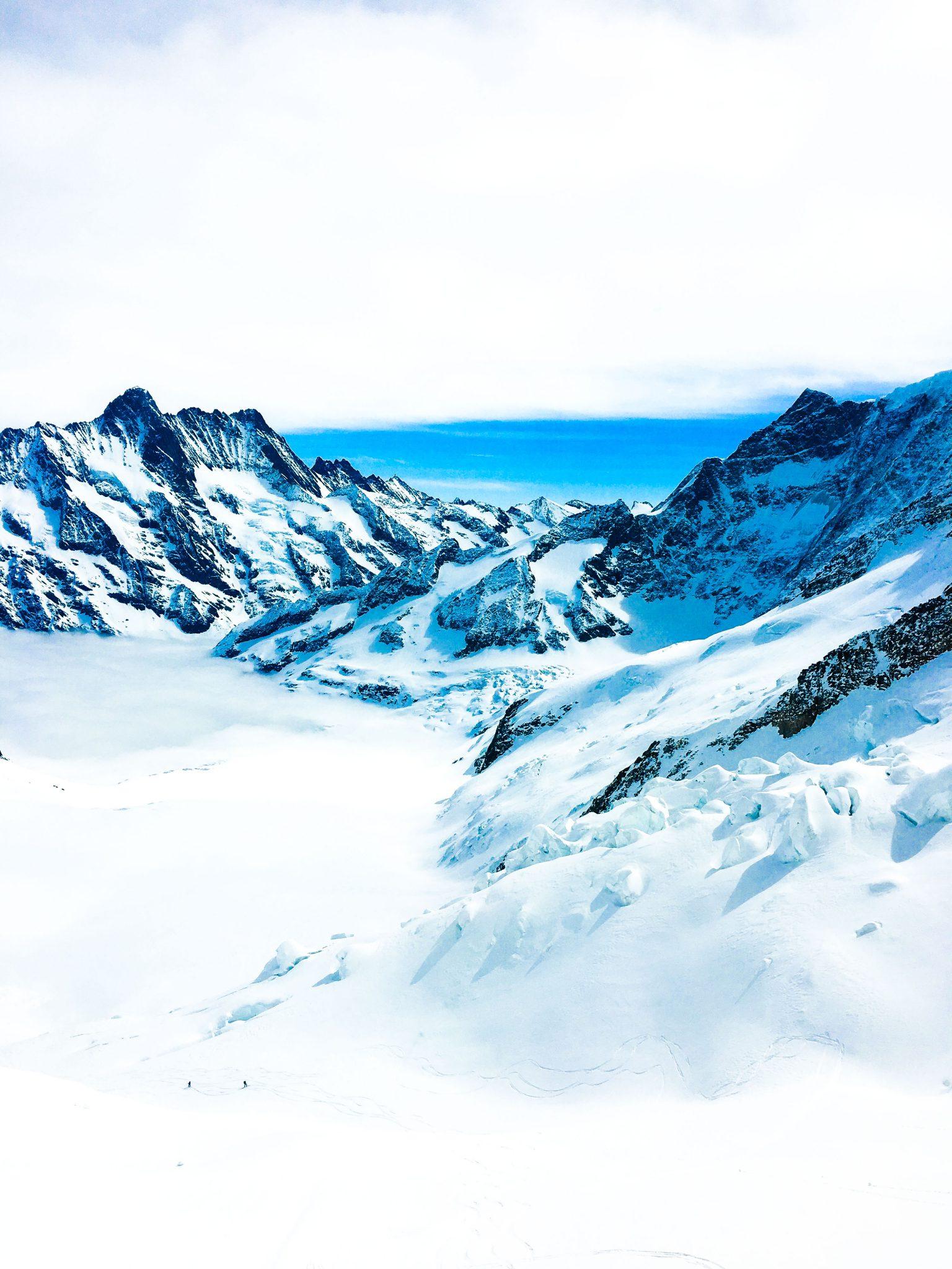 View from Eismeer peak