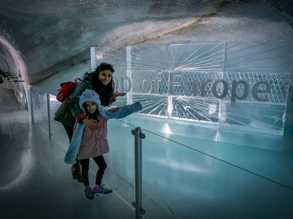 Jungfraujoch- ice palace