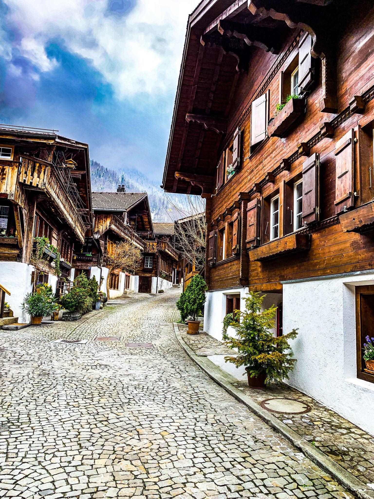 Brunngasse street