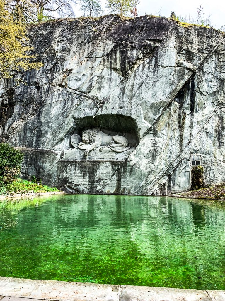 Lucerne  Lion Monument