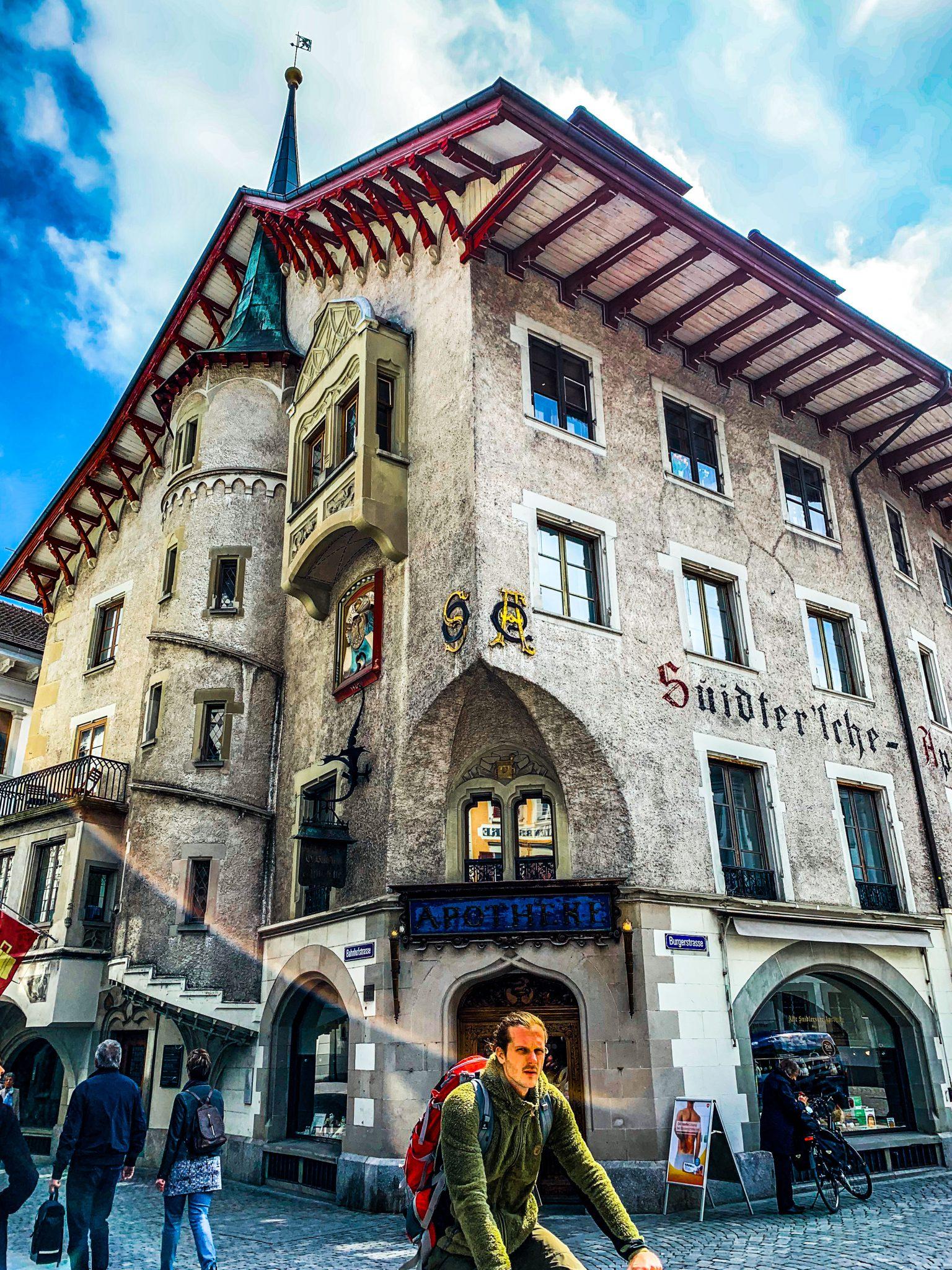 Lucerne streets