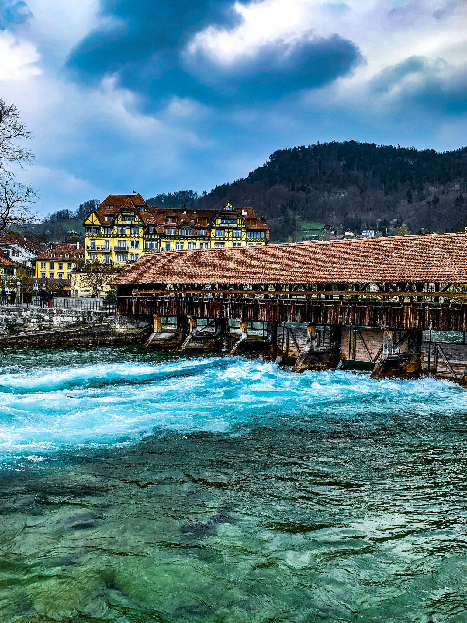 Thun Wooden bridge