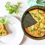 Curry masala veggie and ham frittatas