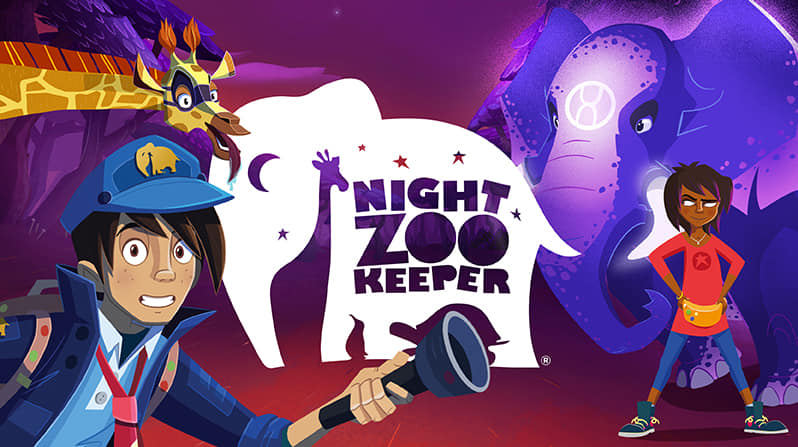Night Zookeeper- A great online tool challenging your child's creativity.