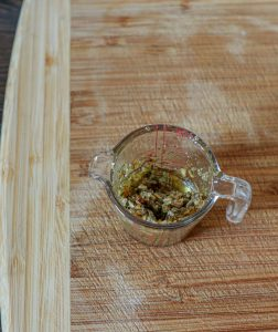 Rosemary and olive oil paste