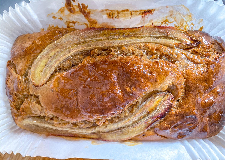 Wholewheat Banana and walnuts Bread recipe