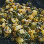 Sauteed Kale with potatoes
