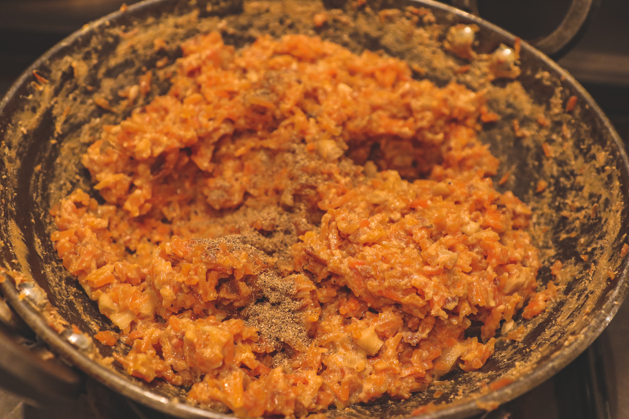 Gajrela/ Gajar ka halwa (Carrot pudding)